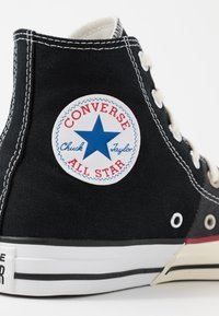 Converse - CHUCK TAYLOR ALL STAR  - Sneakers hoog - black/white/egret - 5