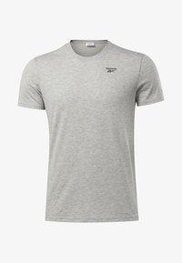 Reebok - TRAINING ESSENTIALS CLASSIC TEE - T-shirt basique - grey - 6