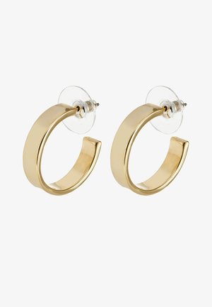 CARRIE EAR PLAIN - Earrings - gold-coloured