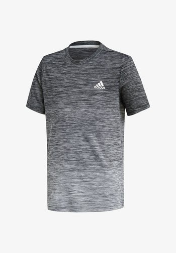 Print T-shirt - schwarz\grey
