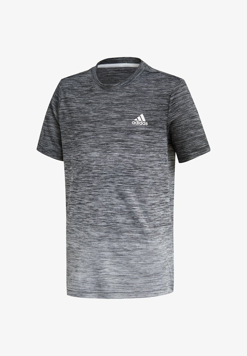 adidas Performance - Print T-shirt - schwarz\grey