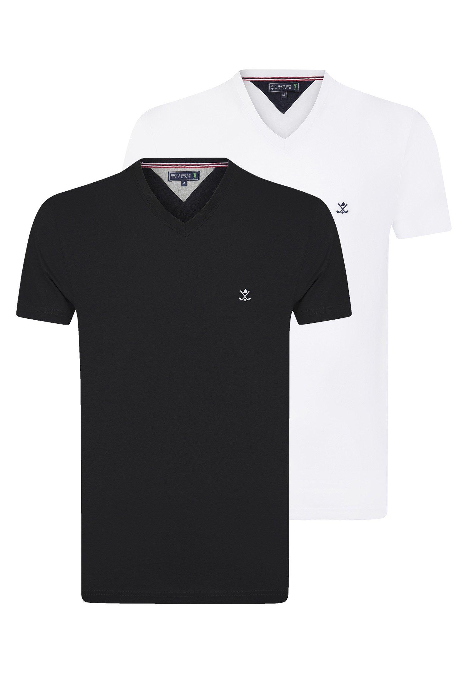 Homme 2ER PACK - T-shirt basique