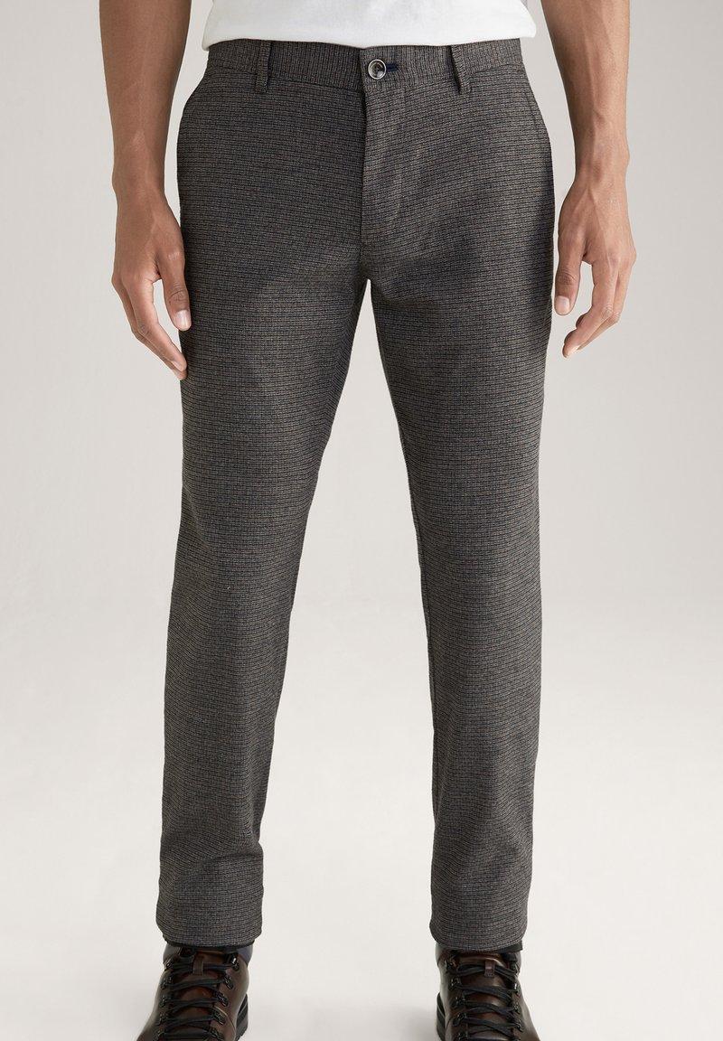 JOOP! Jeans - Trousers - schwarz/navy/braun