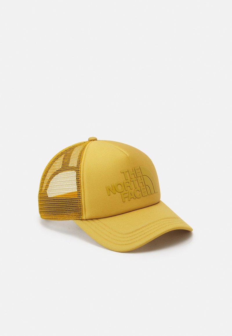 The North Face - LOGO TRUCKER UNISEX - Cap - arrowwood yellow