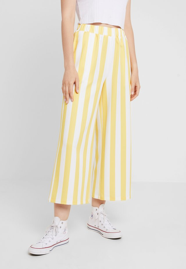 ABEL TROUSERS - Stoffhose - pineapple