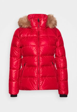 ESSENTIAL JACKET - Down jacket - tango red