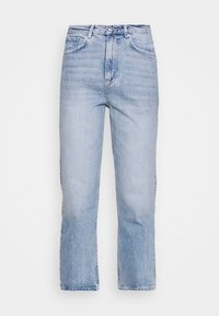 UNNI CROPPED - Straight leg jeans - blue