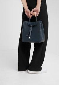 HUGO - VICTORIA DRAWSTRING - Handbag - night blue - 1