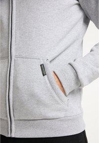 Schmuddelwedda - SWEATJACKE - Zip-up hoodie - hellgrau melange - 3