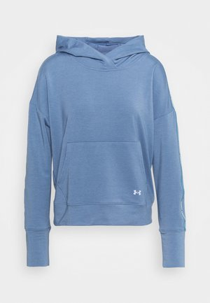 RIVAL TAPED HOODIE - Kapuzenpullover - mineral blue