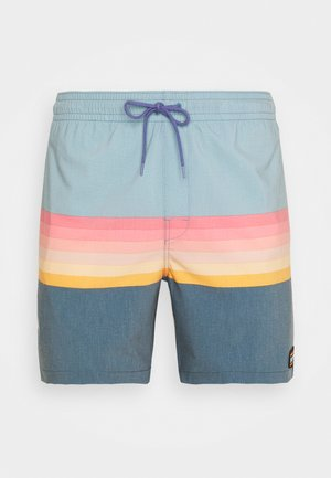 LAYERED VOLLEY - Shorts da mare - light blue
