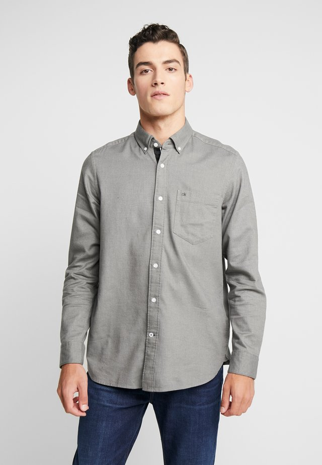 BUTTON DOWN - Shirt - grey
