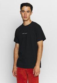 Night Addict - NEVER - T-shirt med print - black - 2