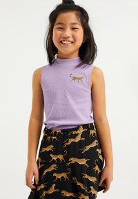 WE Fashion - EMBROIDERY - Top - lilac - 1