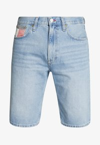 REY - Short en jean - light-blue denim