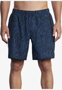 RVCA - VA SPORT YOGGER STRETCH - Shorts - majolica zebra - 0