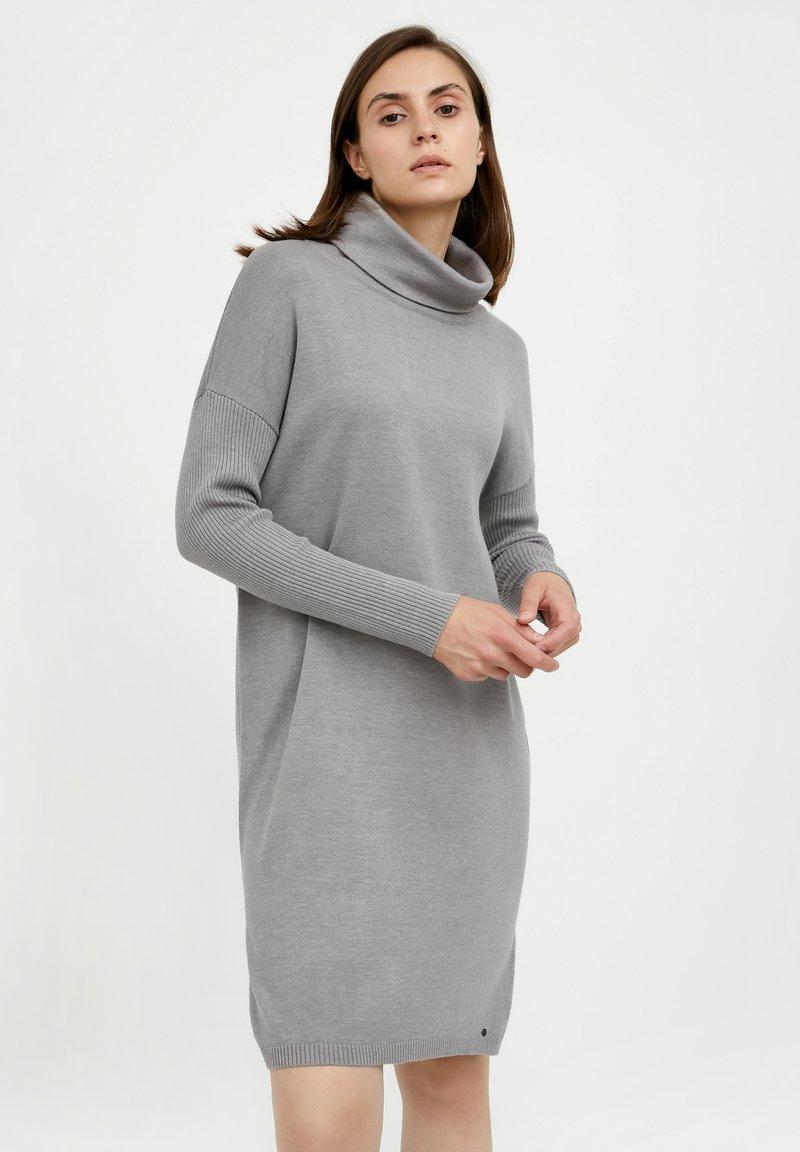 Finn Flare - Jumper dress - grey melange