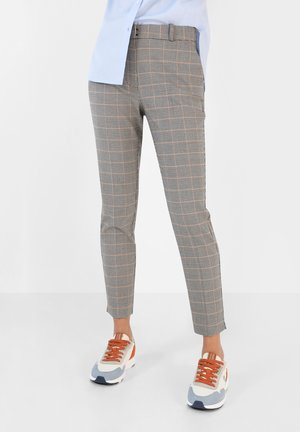 Trousers - blue check