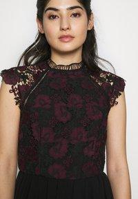 Chi Chi London Petite - SAWYER DRESS - Juhlamekko - black - 4