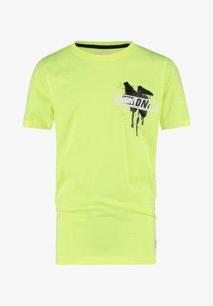 HULO - Print T-shirt - fresh neon yellow