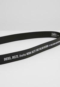 Diesel - B-CRESPINO - BELT - Belt - black - 3