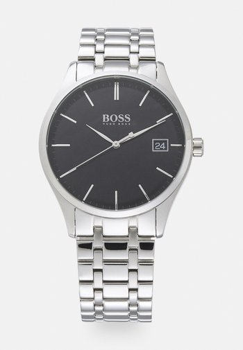 COMMISSIONER - Watch - silver-coloured/black