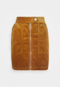 JDY - KIRA LIFE - Pencil skirt - golden brown - 3
