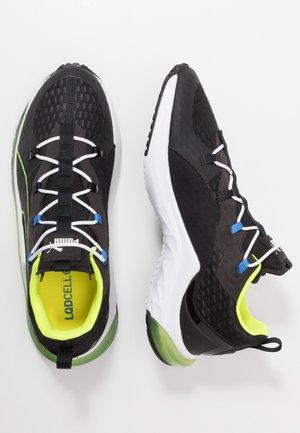 LQDCELL HYDRA - Neutral running shoes - black/yellow alert