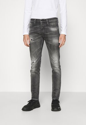Straight leg jeans - denim nero