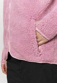 Eivy - REDWOOD SHERPA JACKET - Fleece jacket - dusty pink - 5