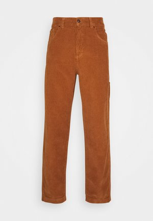 CARPENTER TROUSER - Tygbyxor - brown