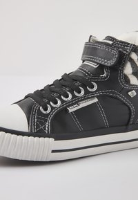 British Knights - ATOLL - High-top trainers - black/zebra - 5