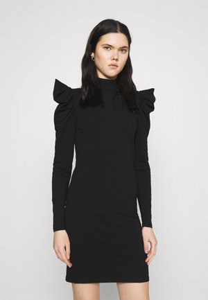 ONLLIVE LOVE LIFE PUFF DRESS - Shift dress - black