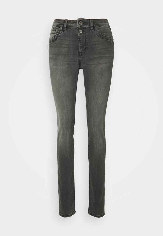 SLIM FIT - Slim fit jeans - black medium wash