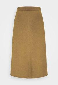 Object - OBJSAVA SKIRT SEASONAL - A-line skirt - tapenade - 0