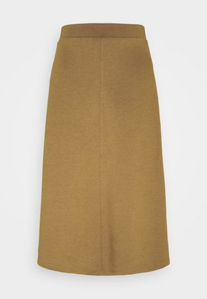 OBJSAVA SKIRT SEASONAL - A-line skirt - tapenade