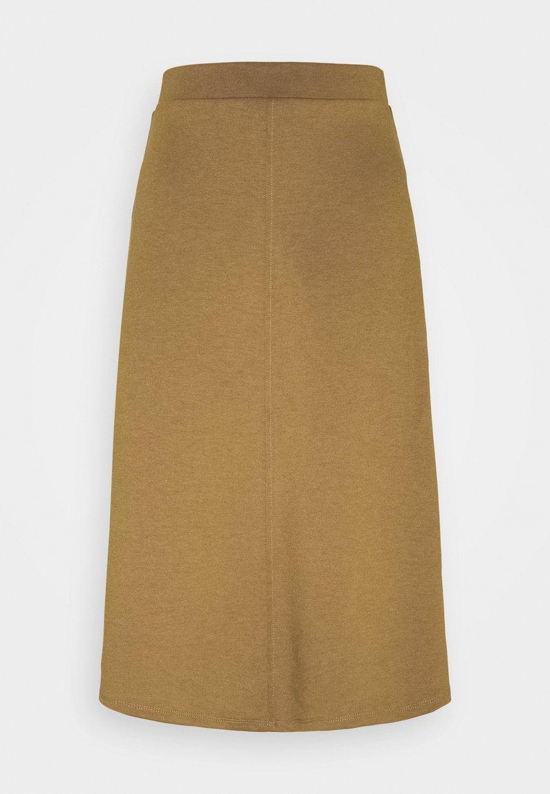 Object - OBJSAVA SKIRT SEASONAL - A-line skirt - tapenade