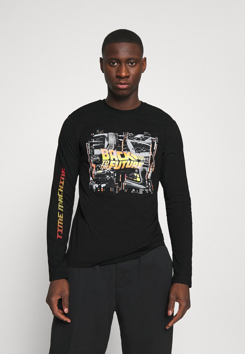 Only & Sons - ONSBTTF TEE - Long sleeved top - black