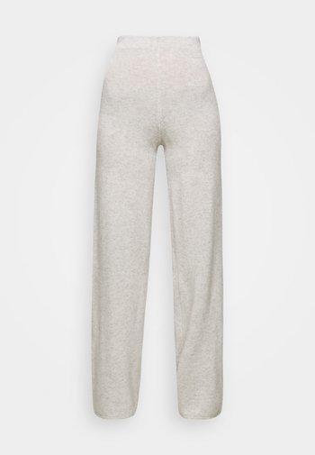 AVA PANTS - Broek - light grey melange