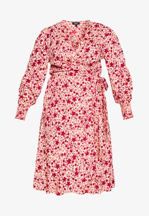 WRAP DRESS - Day dress - multi-coloured