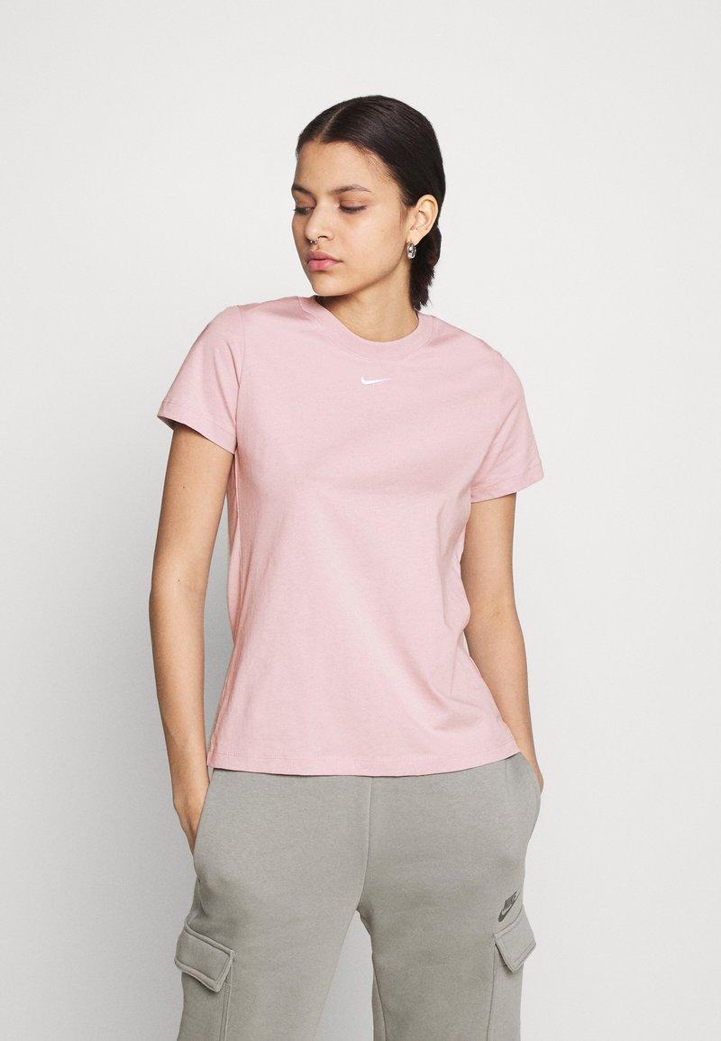 Nike Sportswear - TEE CREW - Jednoduché triko - light pink