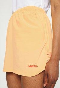 Nike Performance - FC SHORT - Short de sport - melon tint/white/habanero red - 4
