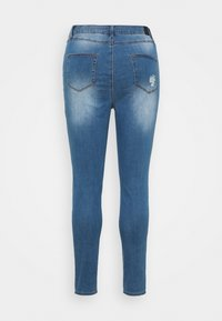 Simply Be - HIGH WAIST  - Jeans Skinny Fit - mid blue - 1