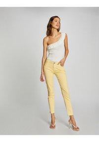 Morgan - Jeans Skinny Fit - yellow - 1