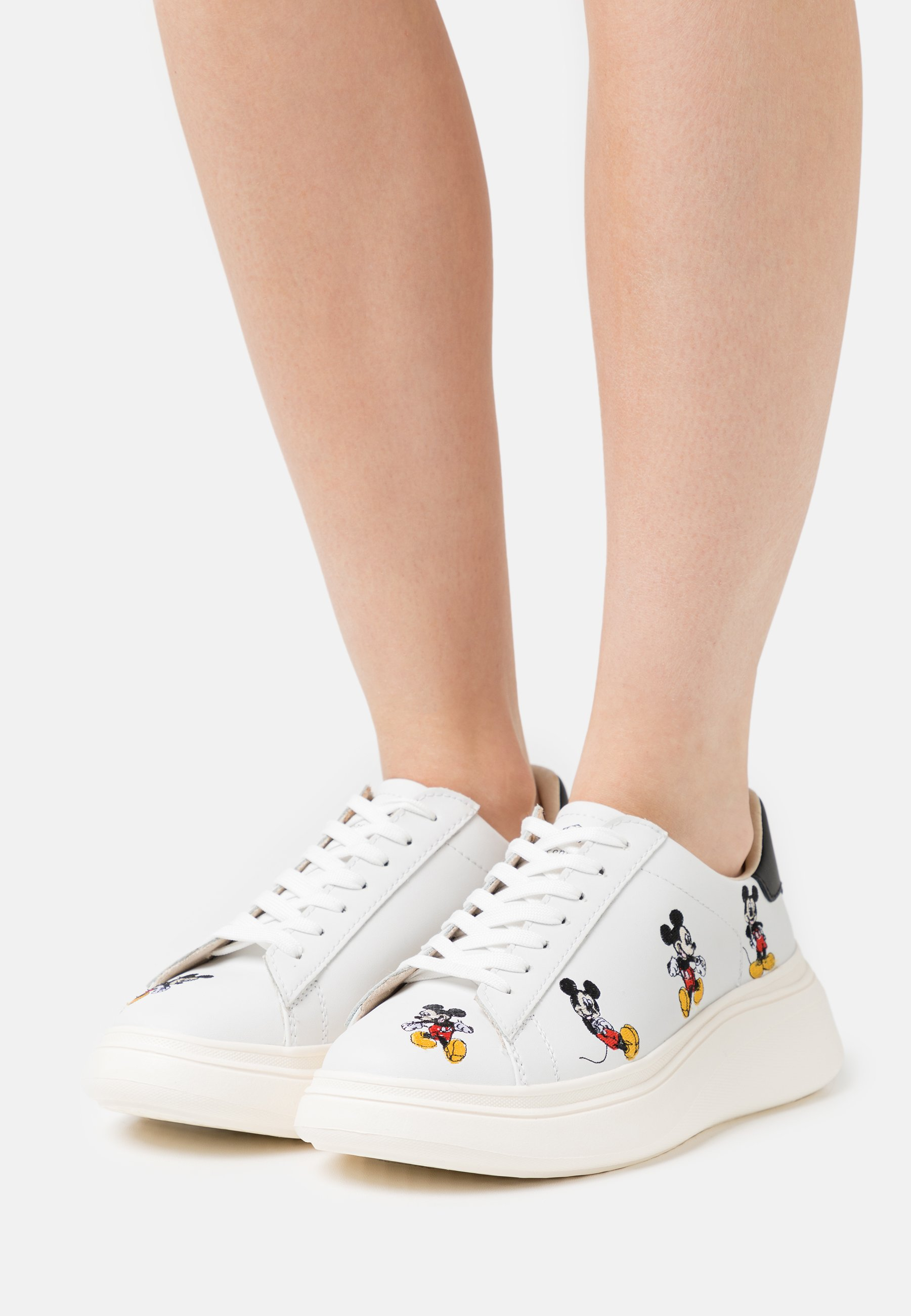 Women DOUBLE GALLERY - Trainers - white