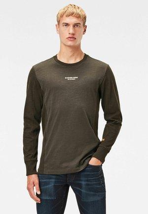 MOTAC LOGO - Långärmad tröja - asfalt