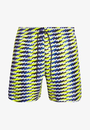 SWIM MEDIUM LENGTH - Swimming shorts - blue/yellow