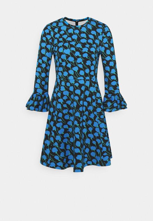 SEASCAPE FLORA PONTE DRESS - Day dress - black
