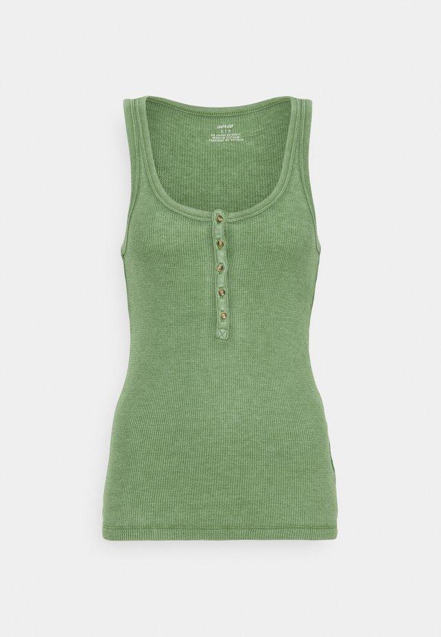 HENLEY TANK - Top - green