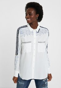 Desigual - CAM_HAMBURGO - Button-down blouse - white - 0
